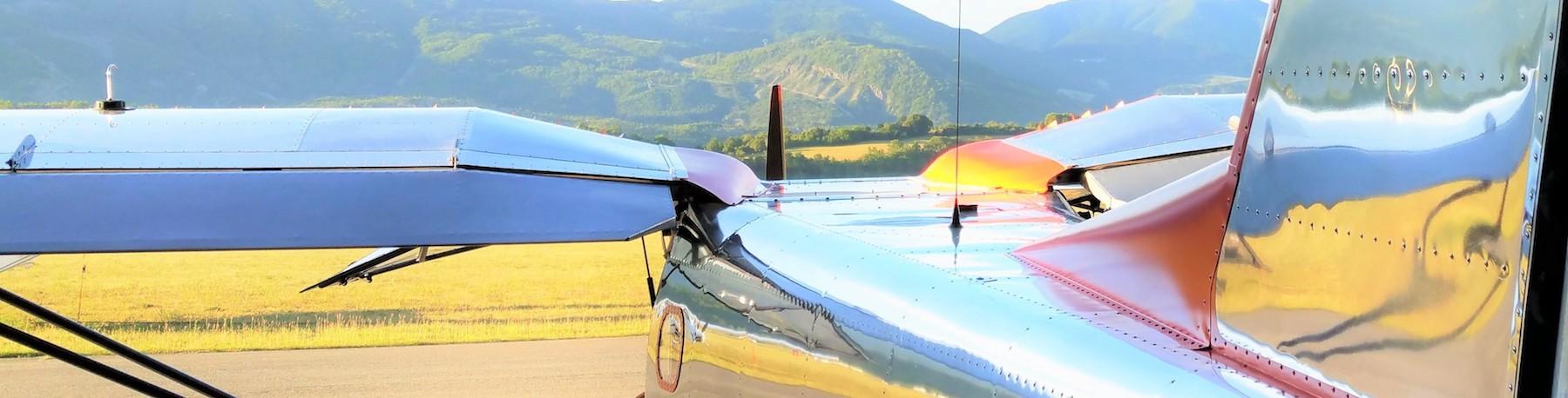 G1 Aviation - Ecole de pilotage - Bannière